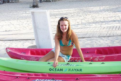 Sarah canoe